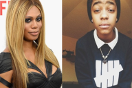 Laverne Cox and Jay Kelly