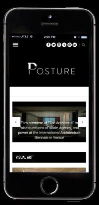 Posture iPhone